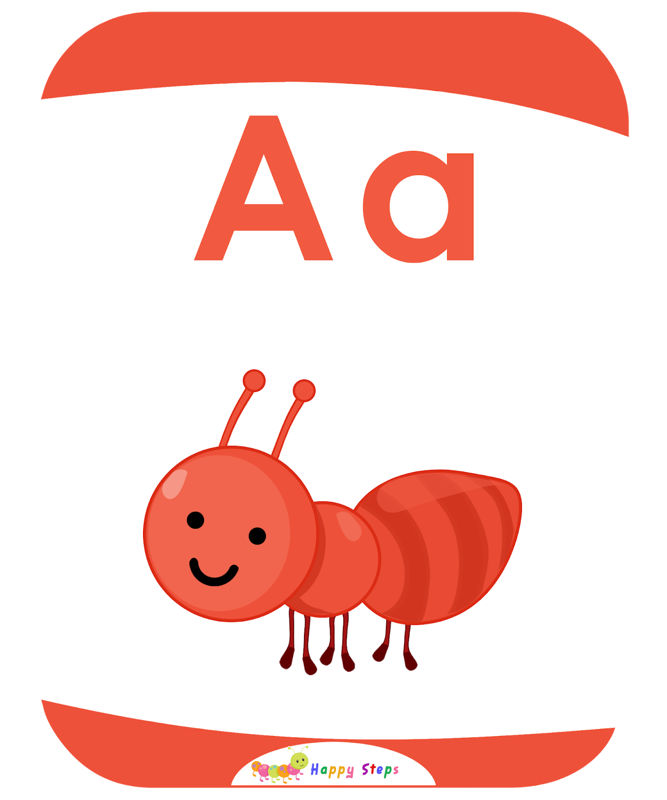 Letter A Flashcards