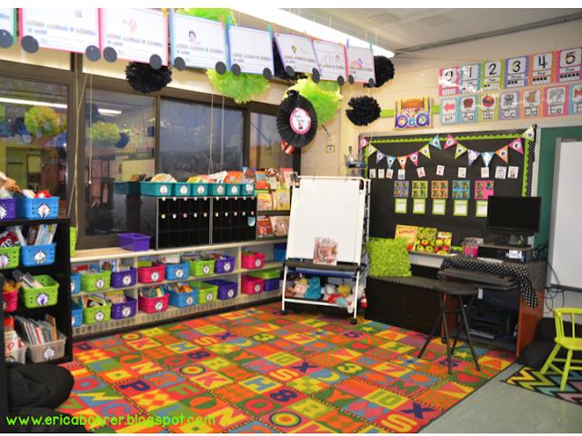 Classroom Decor Black ~ Hoppin our classrooms