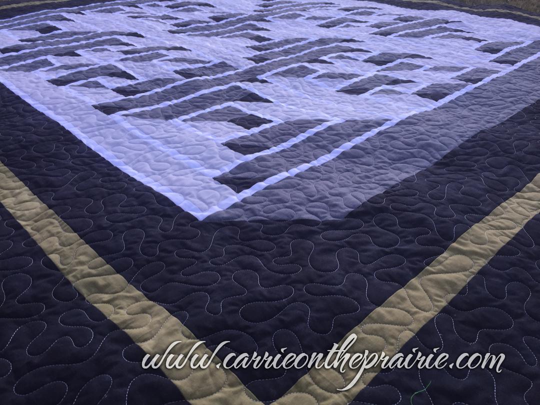 Carrie On The Prairie: Brenda's Labyrinth Walk quilt