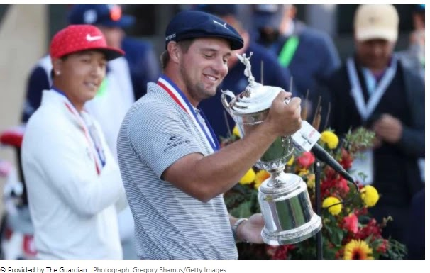 Bryson DeChambeau does it all in his own way and wins the US Open title