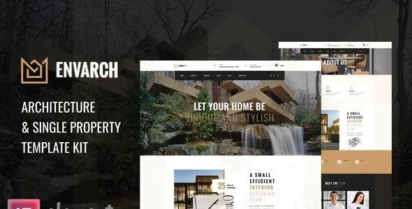 Best Architecture & Single Property Elementor Template Kit