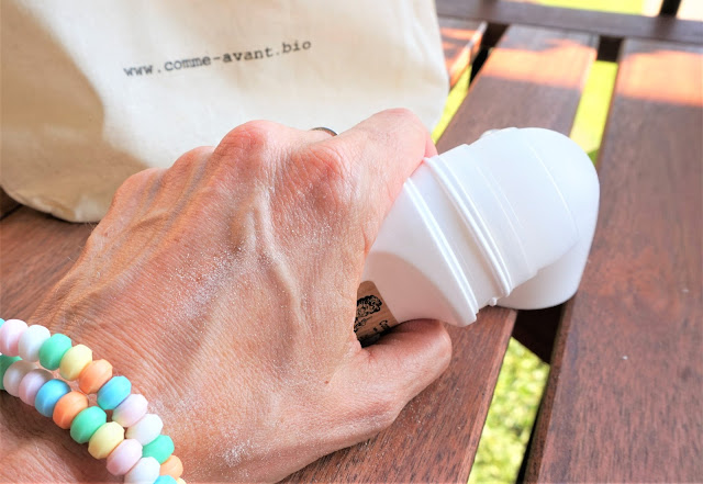 poudre déodorante iris argile bicarbonate