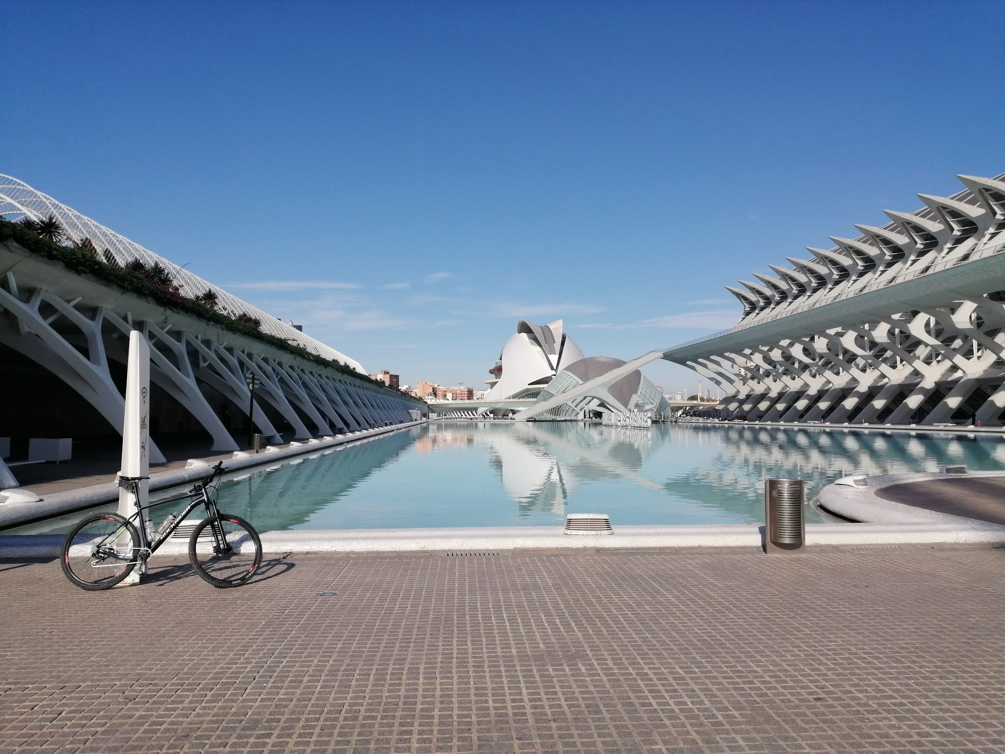 Valencia's Ciudad de las artes y las ciencias