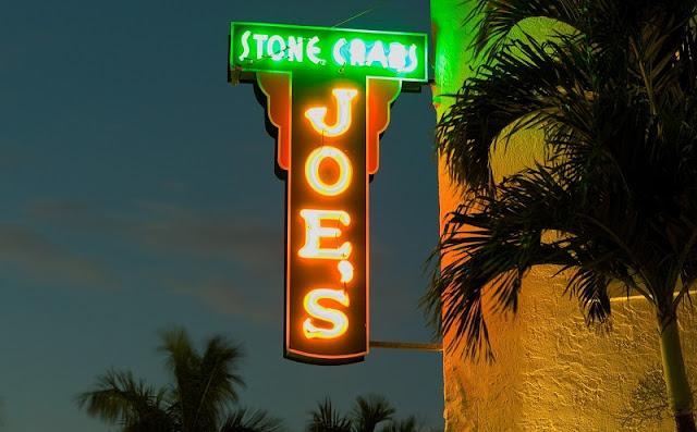 Visita ao restaurante Joe's Stone Crab em Miami