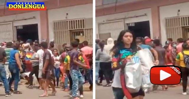Ola de saqueos a comercios en Guasipati Estado Bolívar