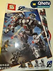 (Bs. 95) Hulkbuster War Machine Legos