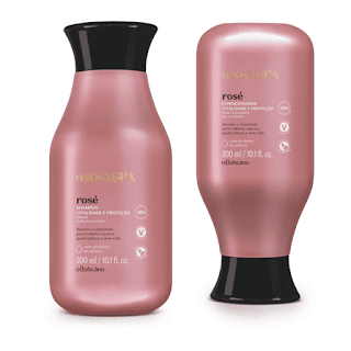 resenha shampoo e condicionador nativa spa rose o boticario dicas da tia