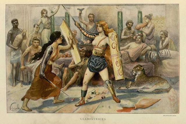 Gladiator Dijadikan Jalan Pintas oleh Kaum Wanita