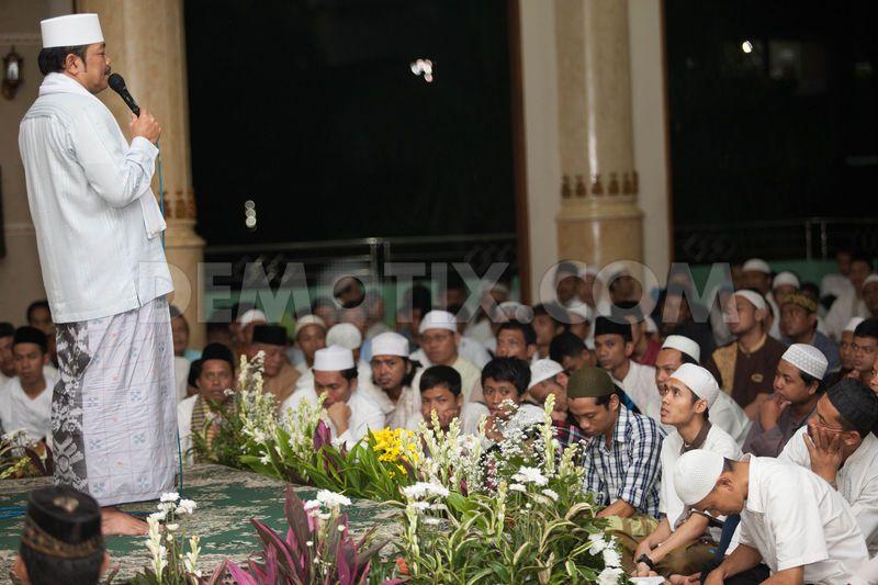 Prophet Muhammad(sw) birthday celebration in Jakarta