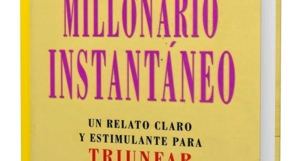 EL MILLONARIO INSTANTÁNEO EBOOK LIBRO COMPLETO PDF ...
