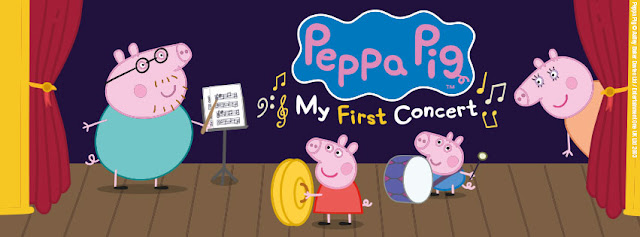 [AD] Peppa Pig: My First Concert Preview