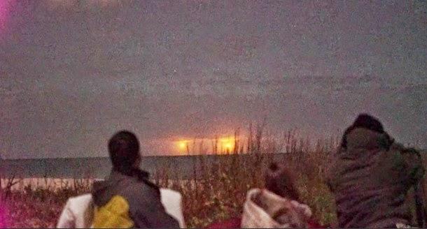 luces florida2 - Miembros del CSETI graban extrañas luces en Vero Beach Florida