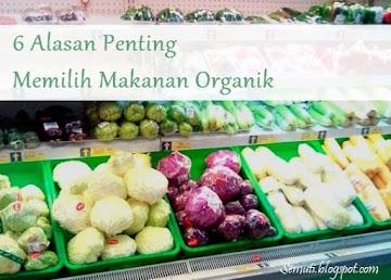 6 Alasan Penting Memilih Makanan Organik