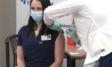 A enfermeira Tiffany Dover: evidências indicam que ela morreu...encobrimento total