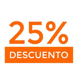 25% descuento extra en toda la web de Venca
