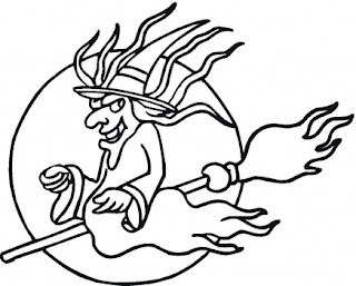 halloween coloring pages: August 2010