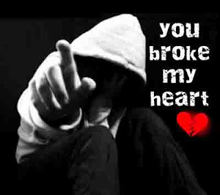 broken heart wallpaper with status