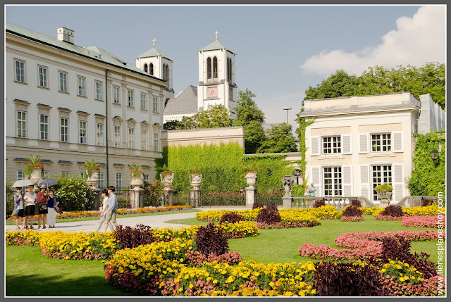 Jardines de Mirabell Salzburgo
