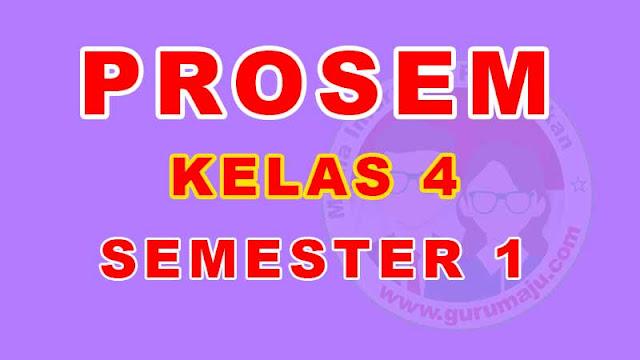Promes Kelas 4 Semester 1 Kurikulum 2013 Tahun Pelajaran 2021/2022