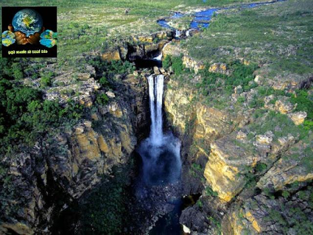 11. සදර්ලන්ඩ් දියඇල්ල, නවසීලන්තය ( Sutherland Falls, New Zealand )