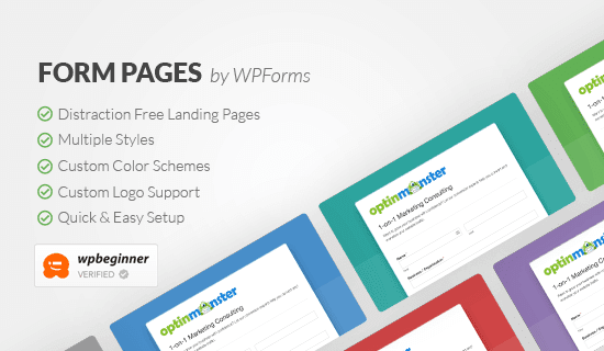 WPForms Landing Pages