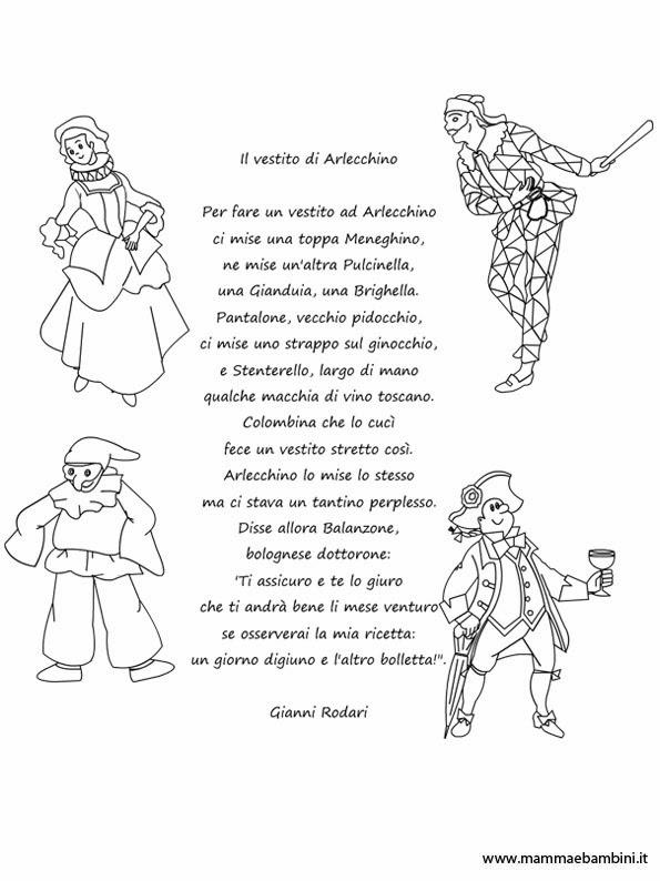 Preferenza Maestra Marzia Soranzo: Poesia di Gianni Rodari: il vestito di  VA91