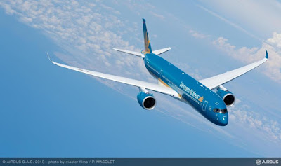 Airbus A350-941, VN-A886, Vietnam Airlines