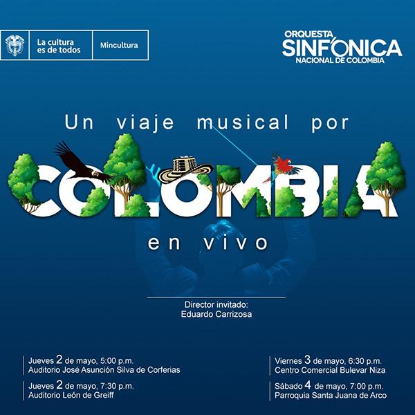 Obras-folclor-colombiano-interpretadas-Orquesta-Sinfónica-Nacional-mayo-Bogotá-Filbo-agenda-colombia