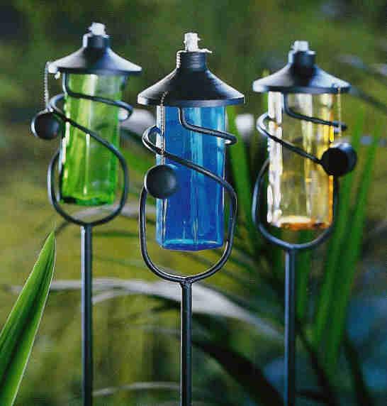 Cosas de palmichula decorar con faroles y farolillos - Farolas para jardin ...