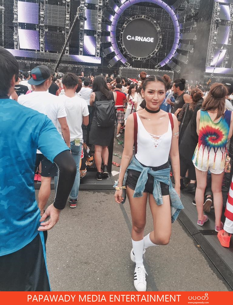 M Seng Lu Having Fun At Ultra Japan 2016