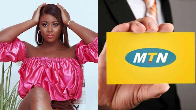 Salma Mumin Apologizes to MTN Ghana [ Screenshot]