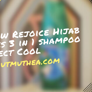 Review Rejoice Hijab Series 3 in 1 shampoo Perfect Cool
