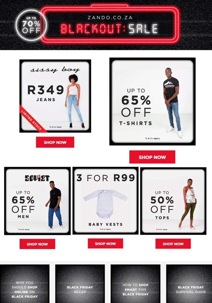 Zando Back Friday Fashion Hot Daily Deals Page 2