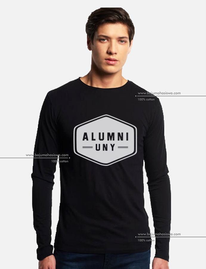 baju mahasiswa long sleeve tshirt alumni uny men