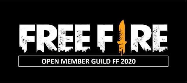Open Member Guild Free Fire 2020