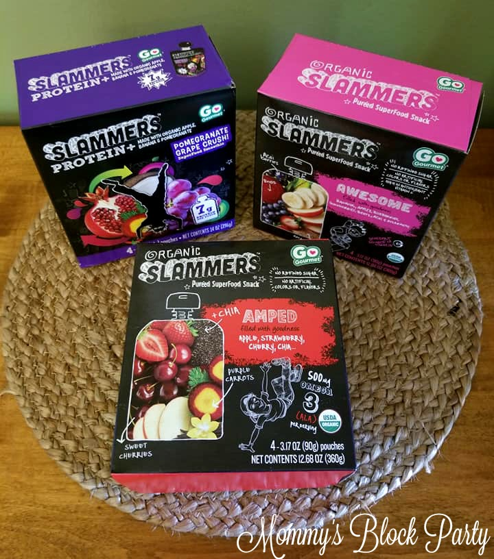 Supercharge Their Summer with Slammers Snacks + #Giveaway
