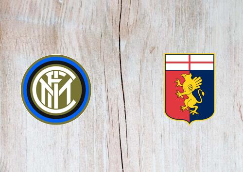 Internazionale vs Genoa -Highlights 21 December 2019