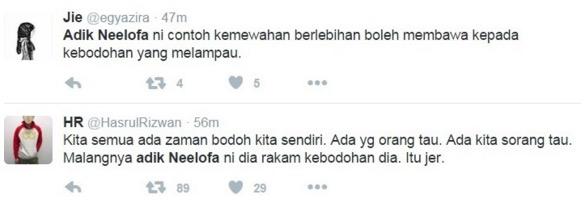 Kritik Cikgu Dan Sekolah Kerajaan, Adik Neelofa Dikecam Netizen