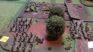 German reservists fall back in front of British assaults