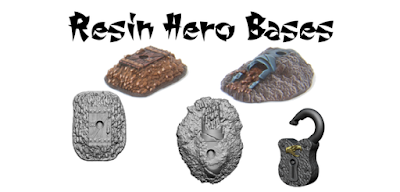 Two resin bases to put champions / Spell throwers on, have been added to the Champions pack! Supplied unpainted.
