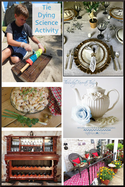 Thursday Favorite Things. Share NOW DIY, crafts, home decor, recipes with bloggers and readers.Thursday ~ Saturday. 8 hostesses. 5 features. #linkparty #linkparties #TFT #eclecticredbarn