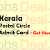 Kerala Postal Circle Admit Card 2017 Postman, Mail Guard Exam Date