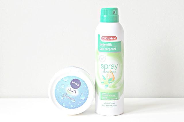 nivea soft crème kruidvat bodymilk spray