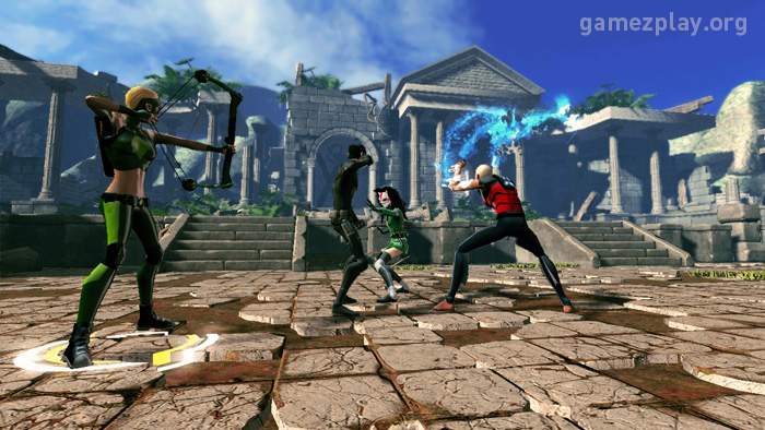 Video games: Young Justice Legacy screenshots and