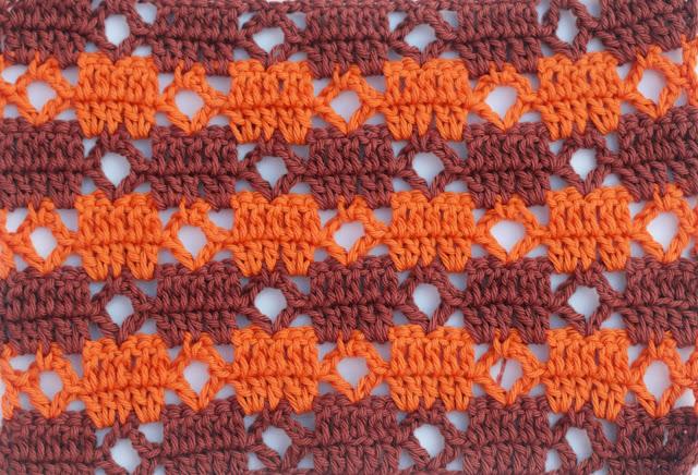 2 - Crochet Puntada de cuadrados a crochet y ganchillo Majovel Crocher baretas paso a paso doble facil sencillo