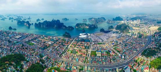 Toàn cảnh thành phố Hạ Long