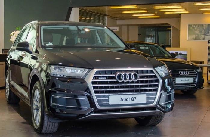 Audi Q7 bị triệu hồi tại thị trường Việt Nam