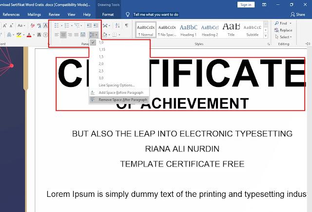 Free Sertifikat DOC Praktis Download Sertifikat Word Gratis .docx