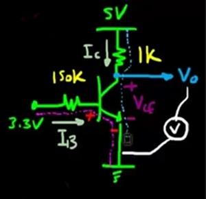 دورة الالكترونيات:حسابات دواائر الترانزستور