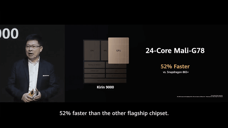 52 percent faster than SD865+